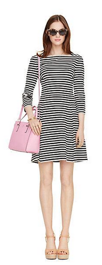 stripe everyday dress